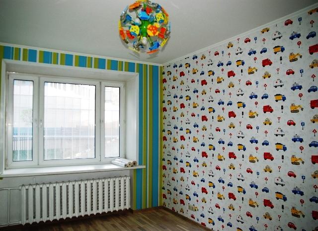 комната обои